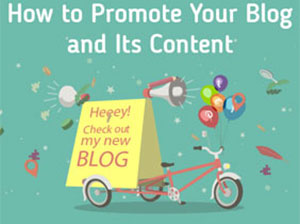 How to Promote Your Blog and Its Content